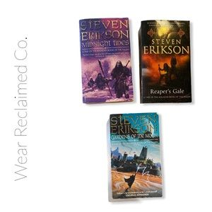 STEVEN ERIKSON Novels: 3 Book Bundle